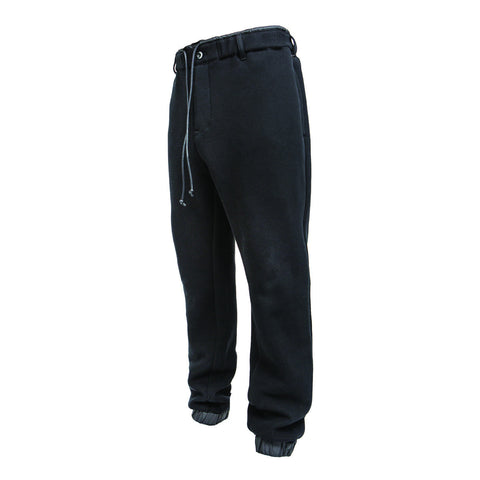 Sacai Sponge Knit Pants (Black)