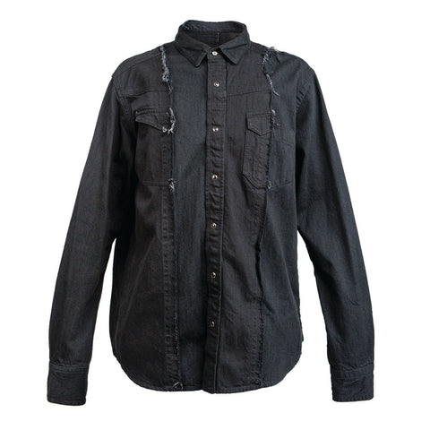 Sacai Denim Shirt (Black)