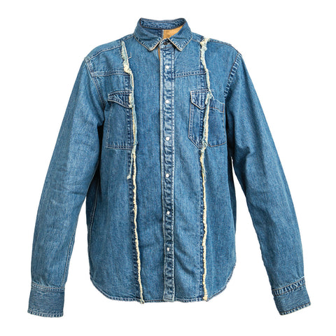 Sacai Denim Shirt (Blue)