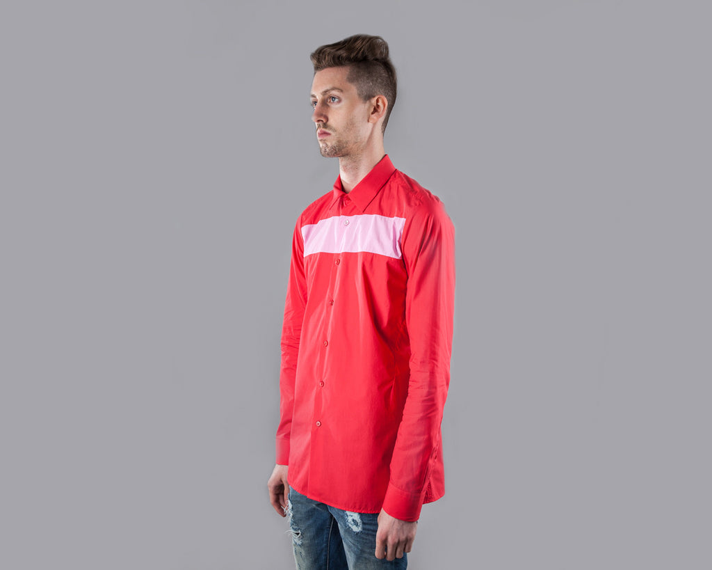 Raf Simons Slim Fit Shirt (Red)