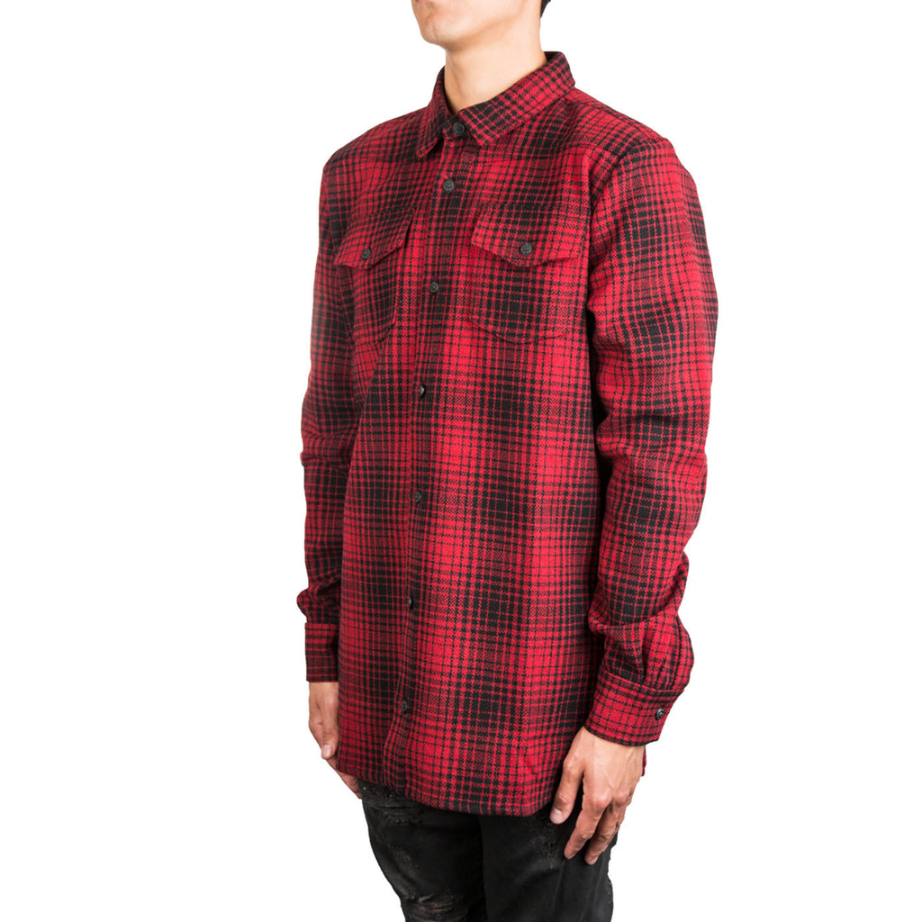 Off-White Tartan Shirt (Red/Black)
