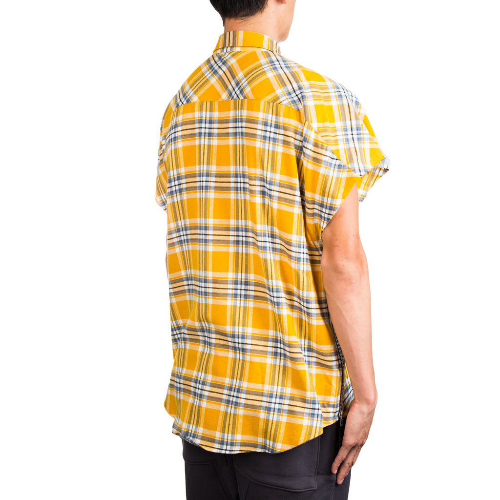 Fear Of God Sleeveless Flannel (Yellow)