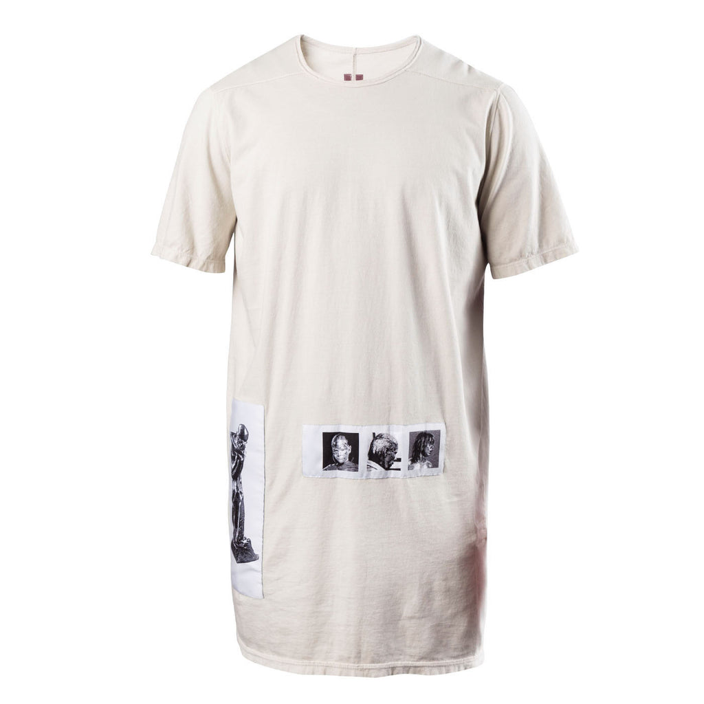 DRKSHDW Level Patch Tee (Pearl)