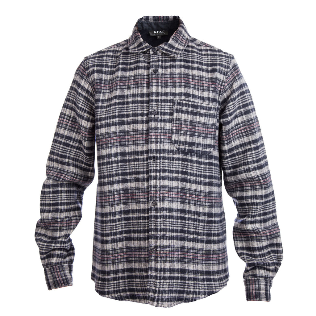 A.P.C. Trevor Overshirt (Off Black)