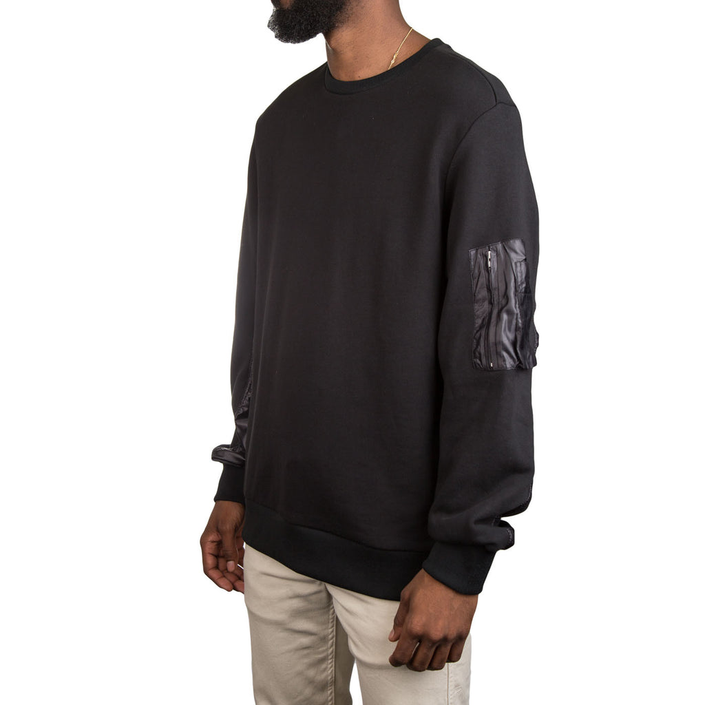 Tim Coppens MA-1 Crew (Black)