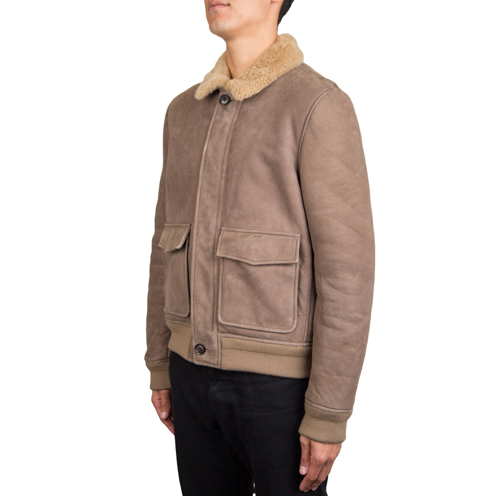 3.1 Phillip Lim Slim Pilot Bomber (Natural)
