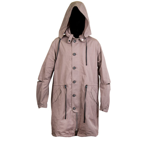 3.1 Phillip Lim Hooded Parka (Grey)