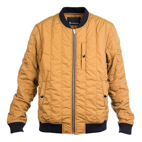 T By Alexander Wang Quilted Bomber (Hemp)