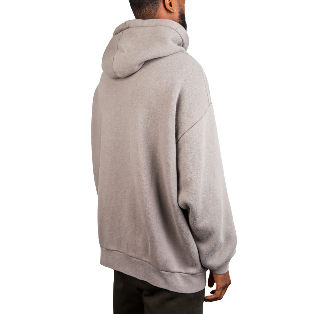 T By Alexander Wang Oversized Fleece Hoodie (Grey)