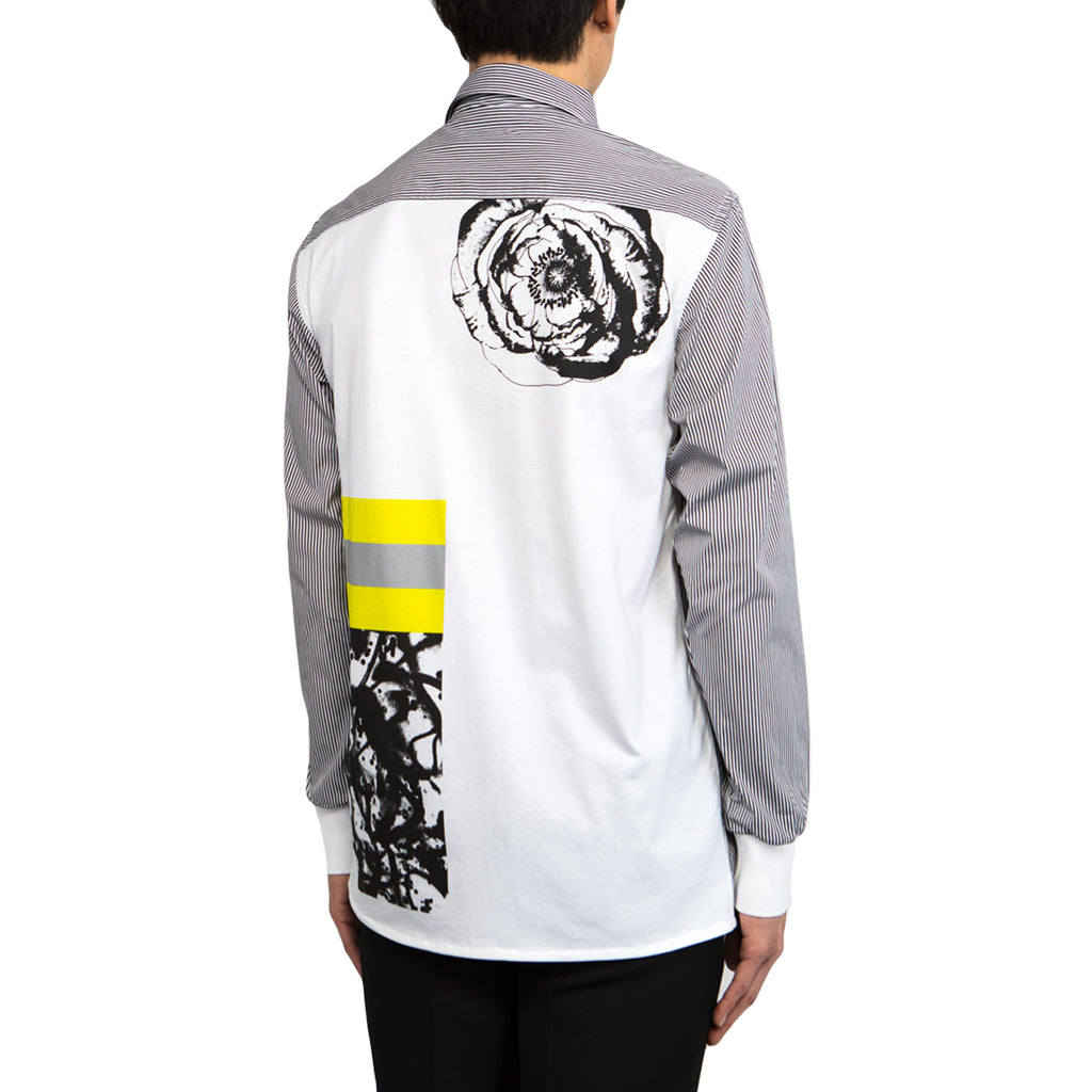 Tim Coppens Collage Shirt (White/Black)