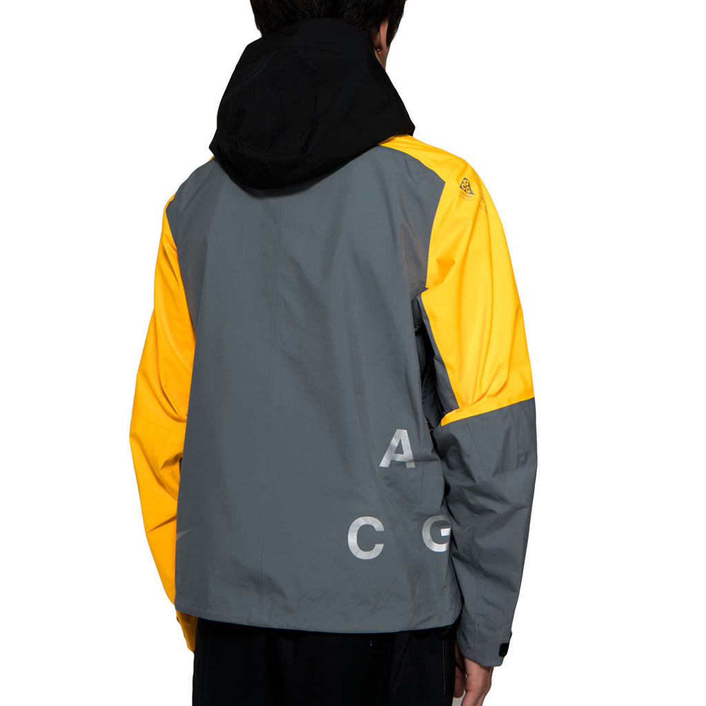 NikeLab ACG GORE-TEX® Deploy Jacket (Cool Grey/Laser Orange)