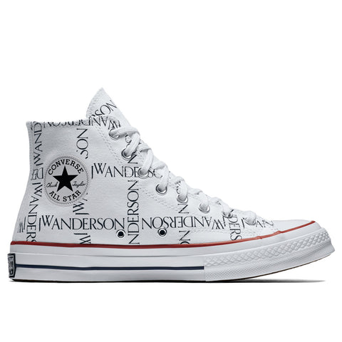 Converse x JW Anderson Chuck Taylor® All Star® 70 Grid Sneaker, White/Black/Insignia Red