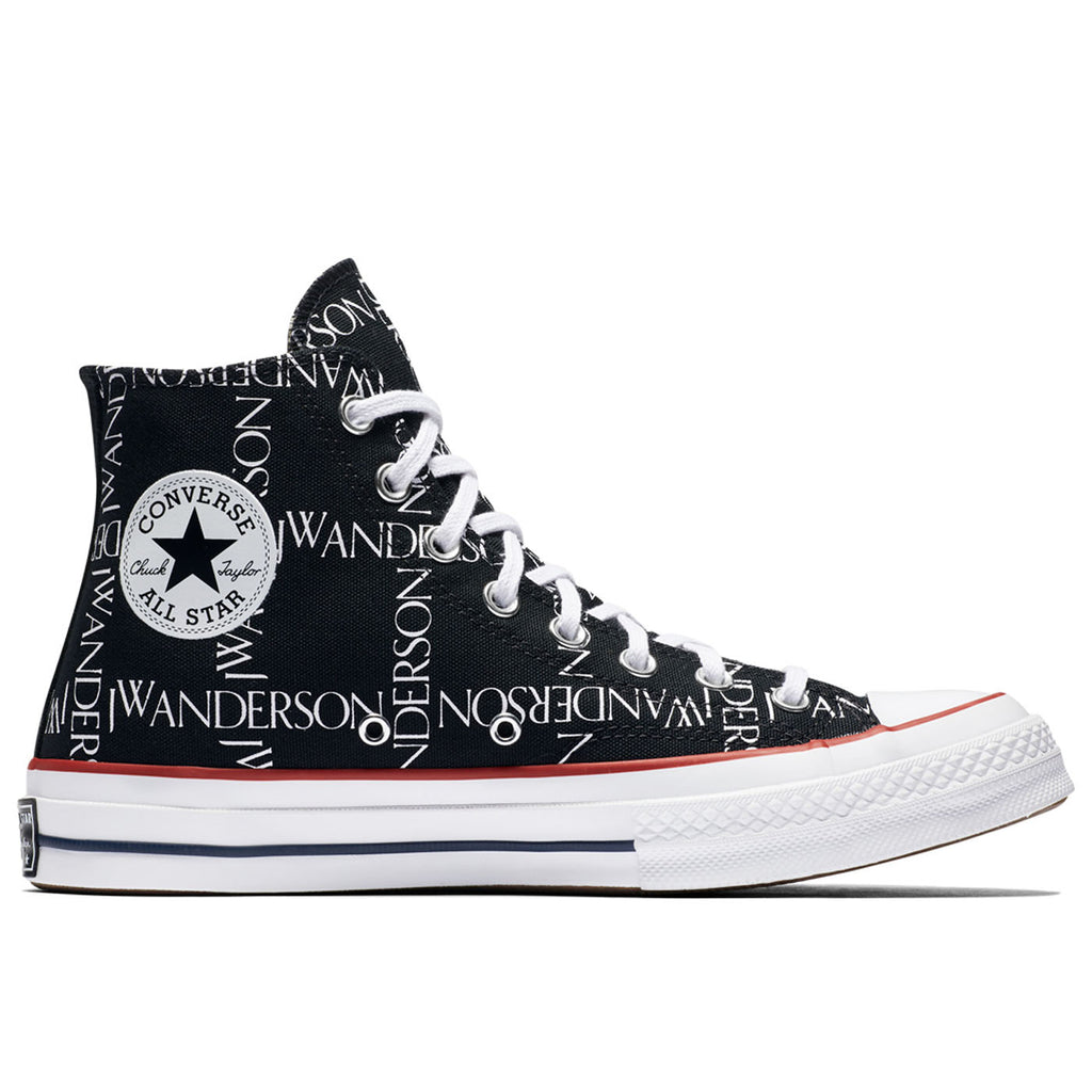 Converse x JW Anderson Chuck Taylor® All Star® 70 Grid Sneaker, Black/White/Insignia Red