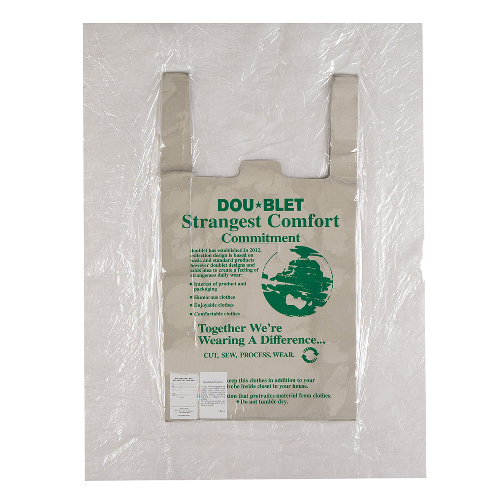 Doublet Supermarket Leather Bag