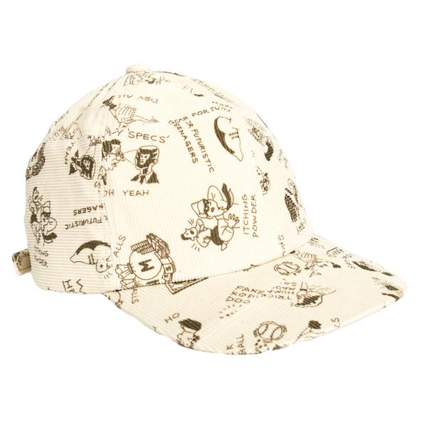 Human Made Print Patchwork Cap (White)