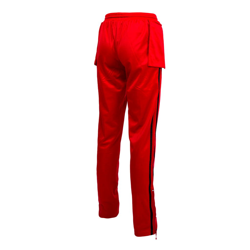 Midnight Studios Music Note Track Pant (Red)