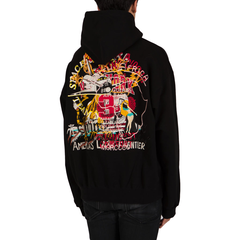 Doublet Chaos Embroidery Hoodie