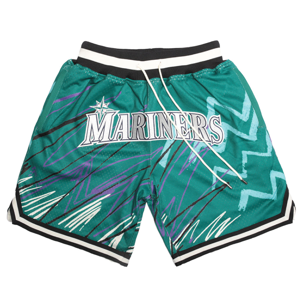 Just Don Sublimated Shorts, Seattle Mariners