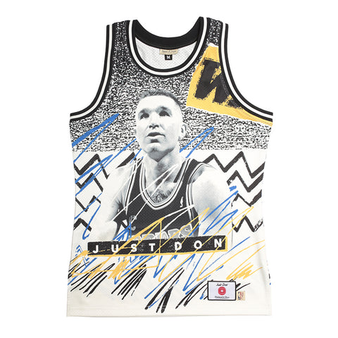 Just Don Sublimated Jersey, Golden State Warriors