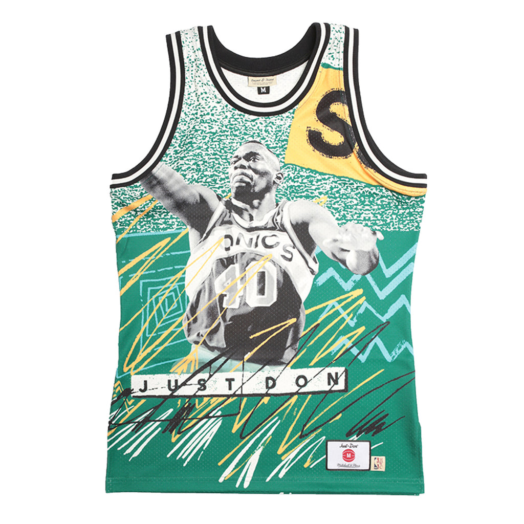 Just Don Sublimated Jersey, Seattle Supersonics