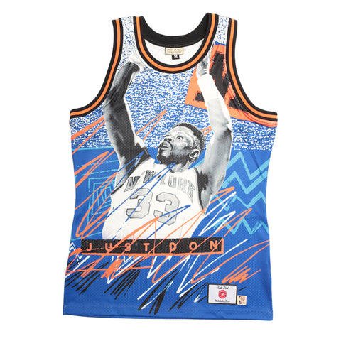 Just Don Sublimated Jersey, New York Knicks