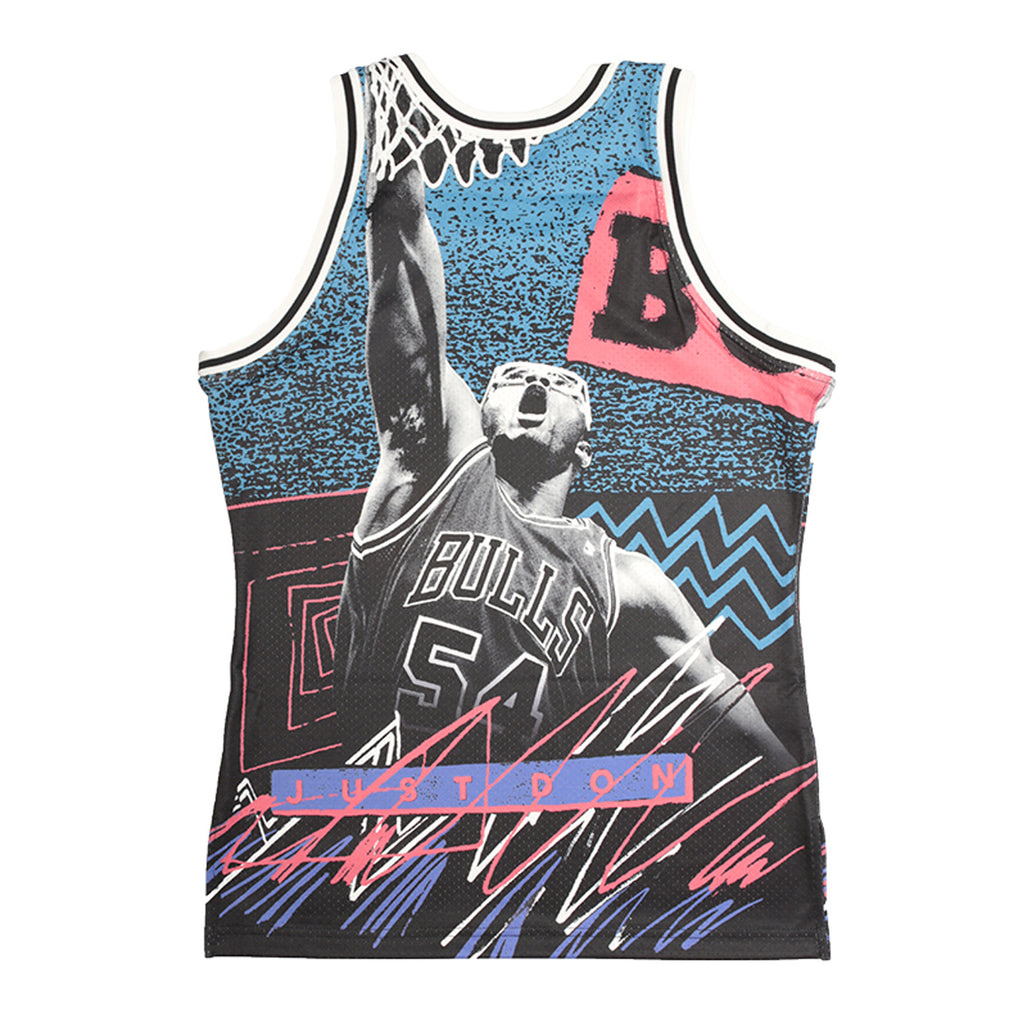 Just Don Sublimated Jersey, Chicago Bulls