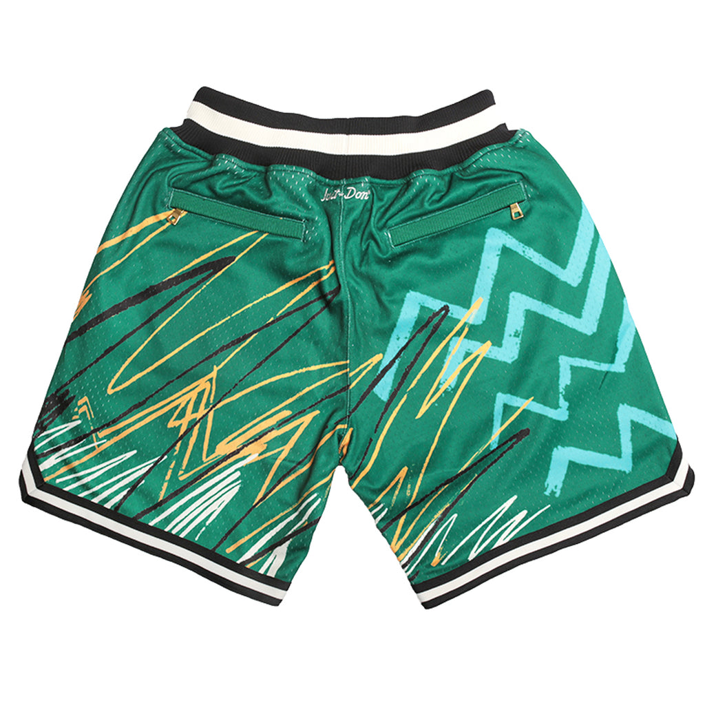 Just Don Sublimated Shorts, Seattle Supersonics