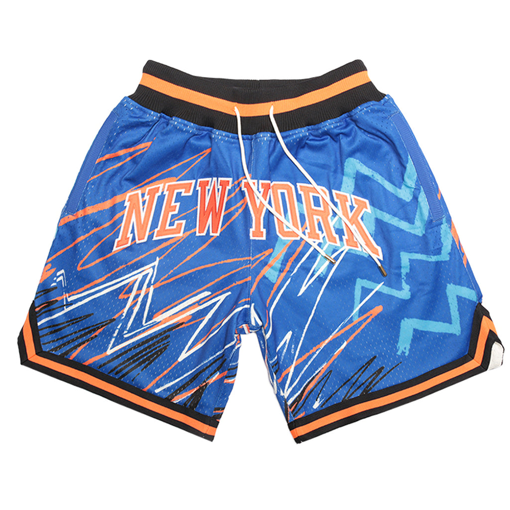 Just Don Sublimated Shorts, New York Knicks