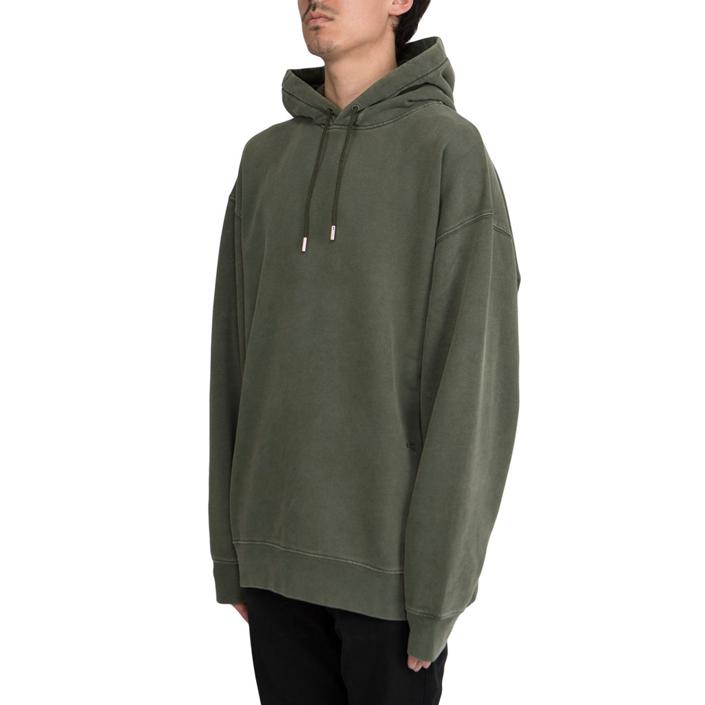 Acne Studios Fala Wash Hoodie (Safari Green)