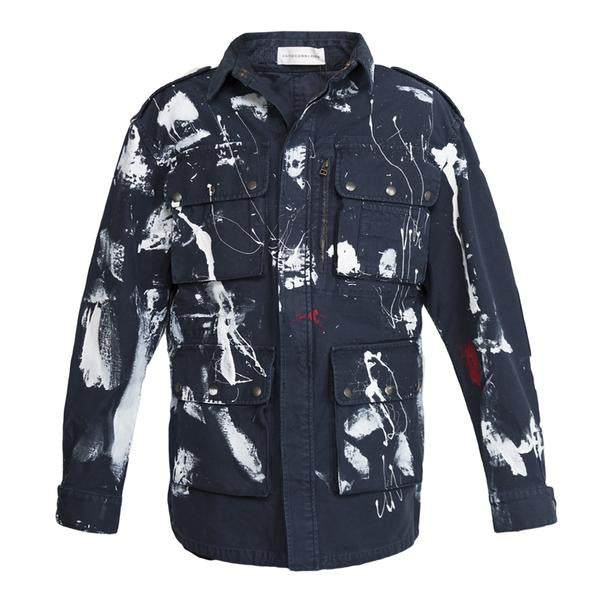 Faith Connexion Tag Mili Parka (Black)