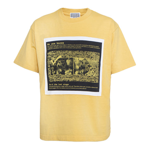 Cav Empt No One Knows Panel Tee (Orange)