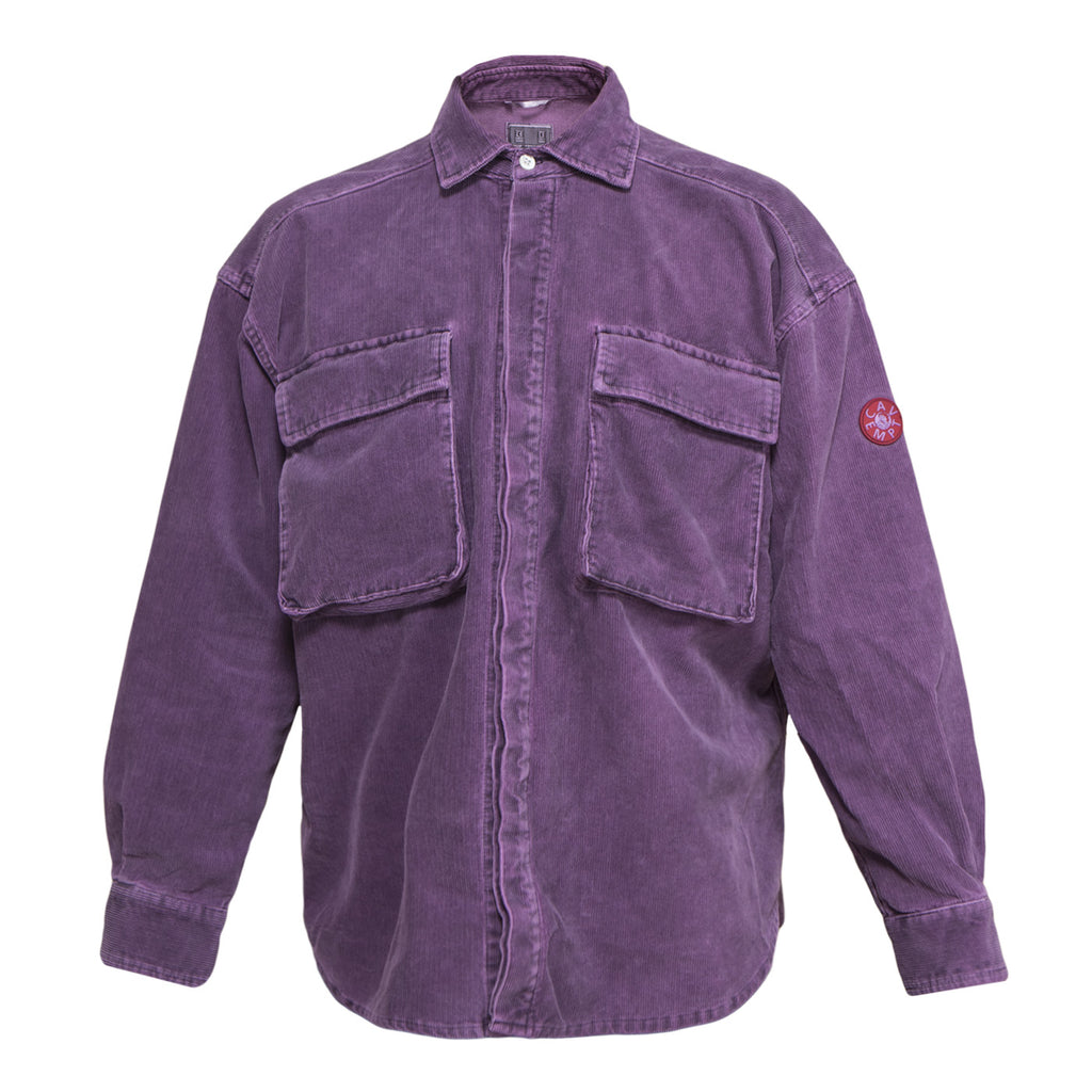 Cav Empt Big Corduroy  Shirt #3 (Purple)