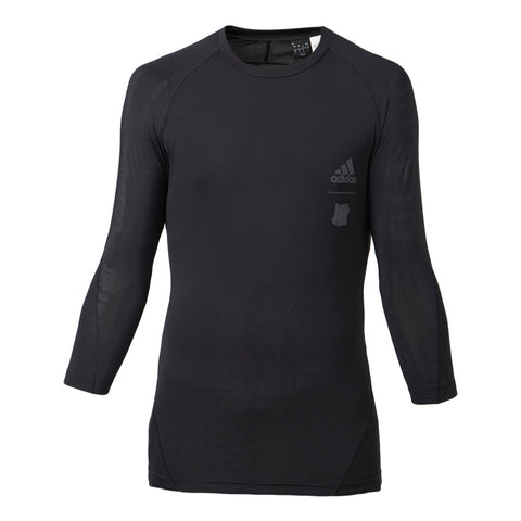 adidas x UNDFTD Ask Tec Tee 3/4 (Black)