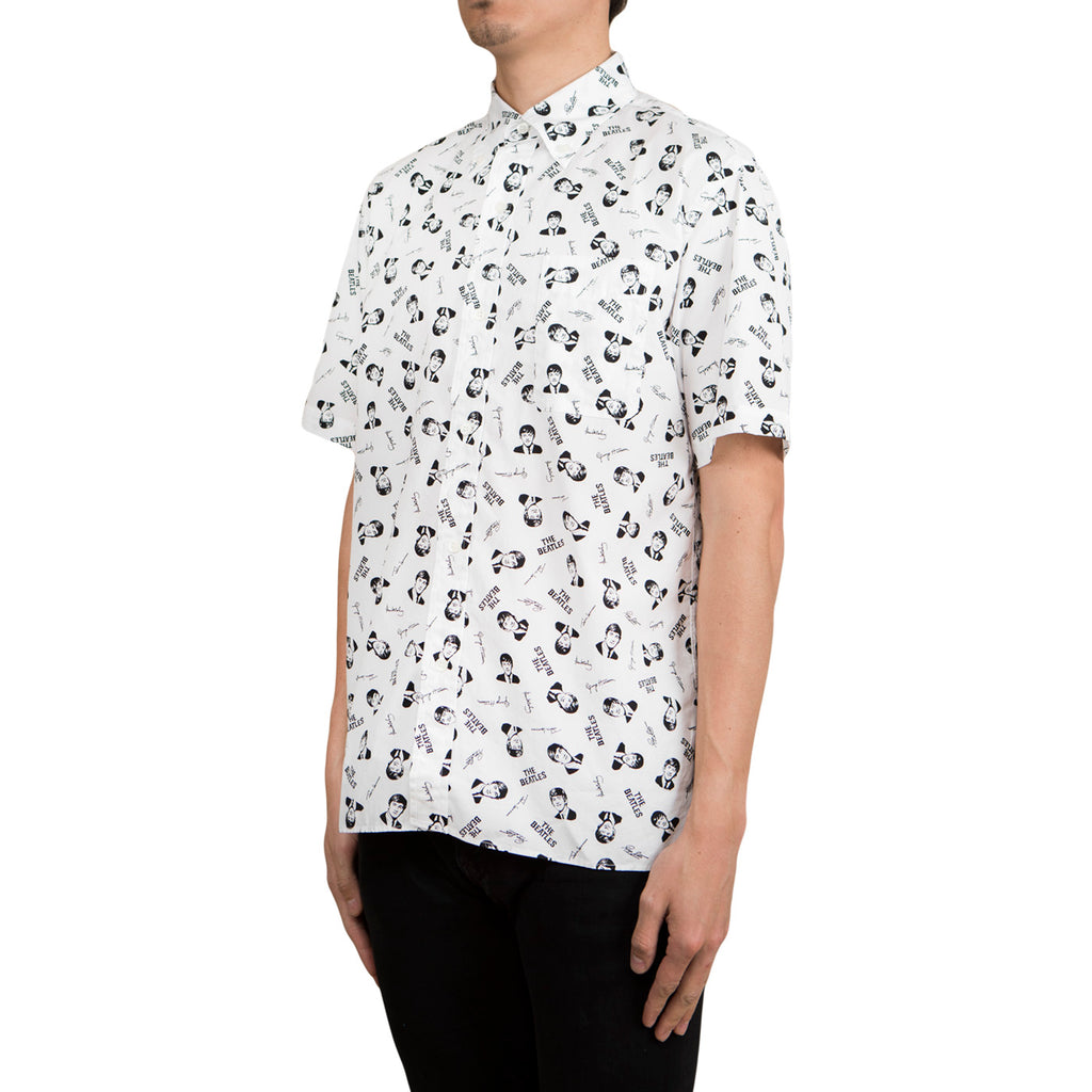 Human Made Beatles SS Button Shirt (White)