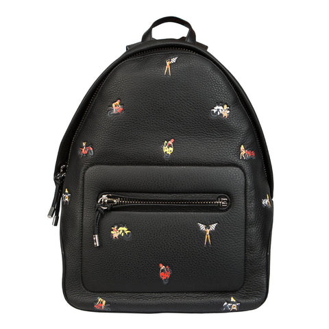 Alexander Wang Berkeley Embroidered Backpack (Black)