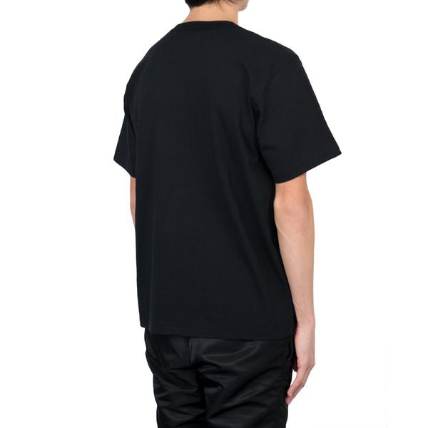 Sacai Cotton T-Shirt, Black