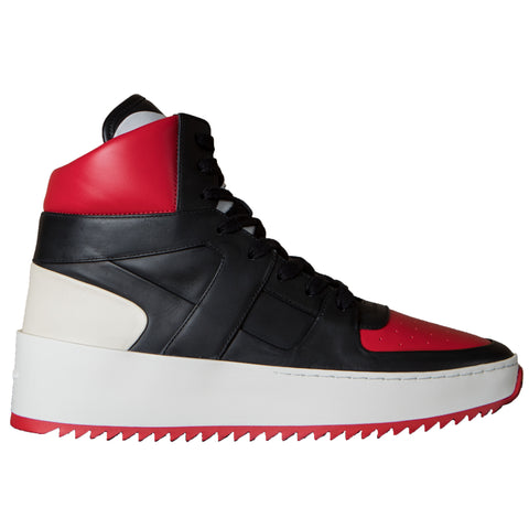 Fear of God Basketball Sneaker, Varsity Red/Black