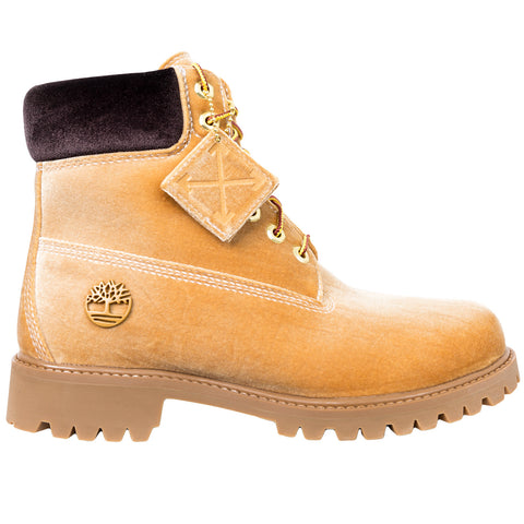 Off-White Timberland Boots (Wheat)