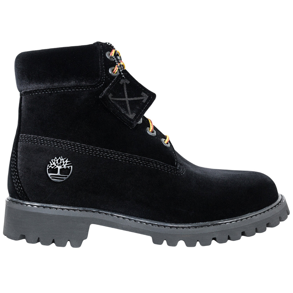 Off-White Timberland Boots (Black)