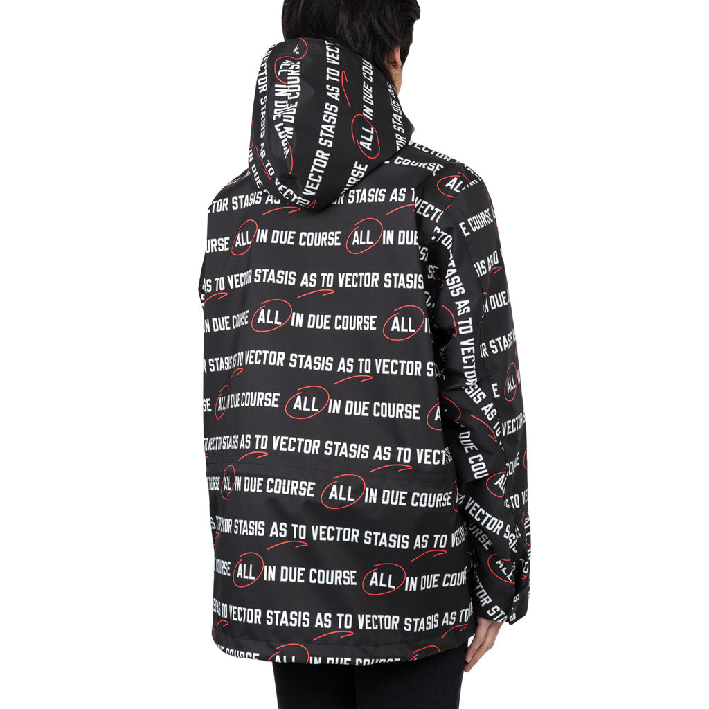 Sacai All In Print Jacket (Black)