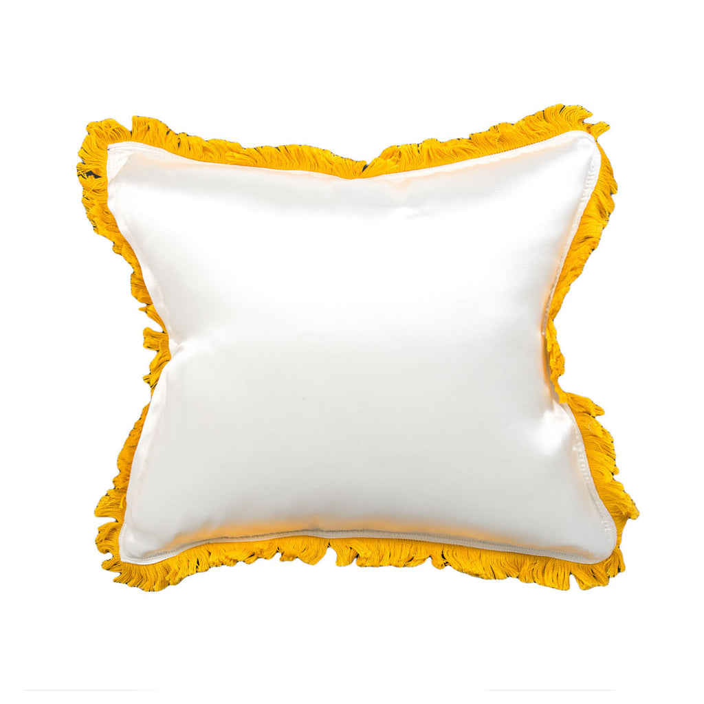 Human Made Rayon Cover Cushion (White)