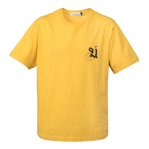 Undercover Chest Graphic T-shirt (Mustard)