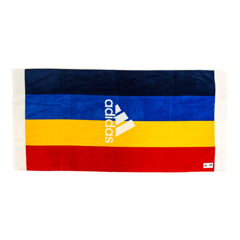 Adidas Tennis x Pharrell Williams NY Towel (Chalk White/Dark Blue/Scarlet)