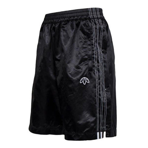 Adidas X Alexander Wang Satin Snap Short (Black)