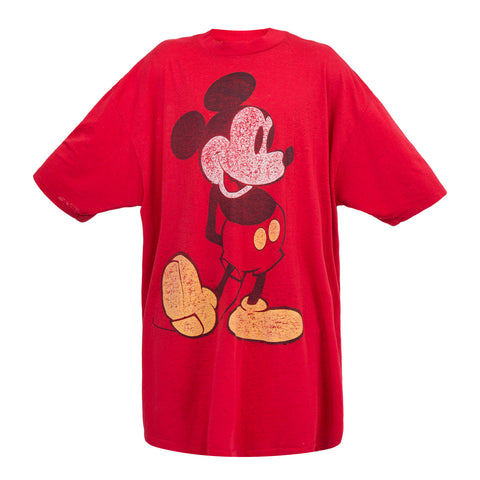 Saint Luis Mickey Mouse Tee (Red)