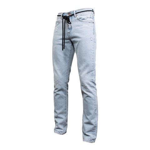 Off White Temperature Slim Jeans (Bleach)