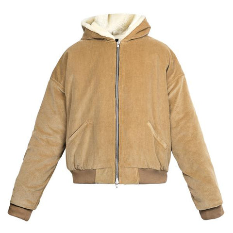 Fear Of God Corduroy Alpaca Hoodie (Tan)