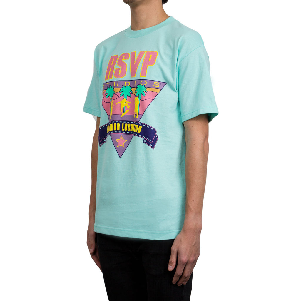 RSVP Gallery Filming Location Tee, Celadon