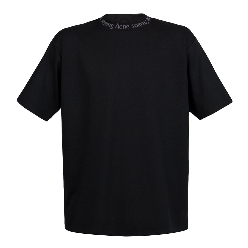 Acne Navid Short Sleeve T-Shirt (Black)