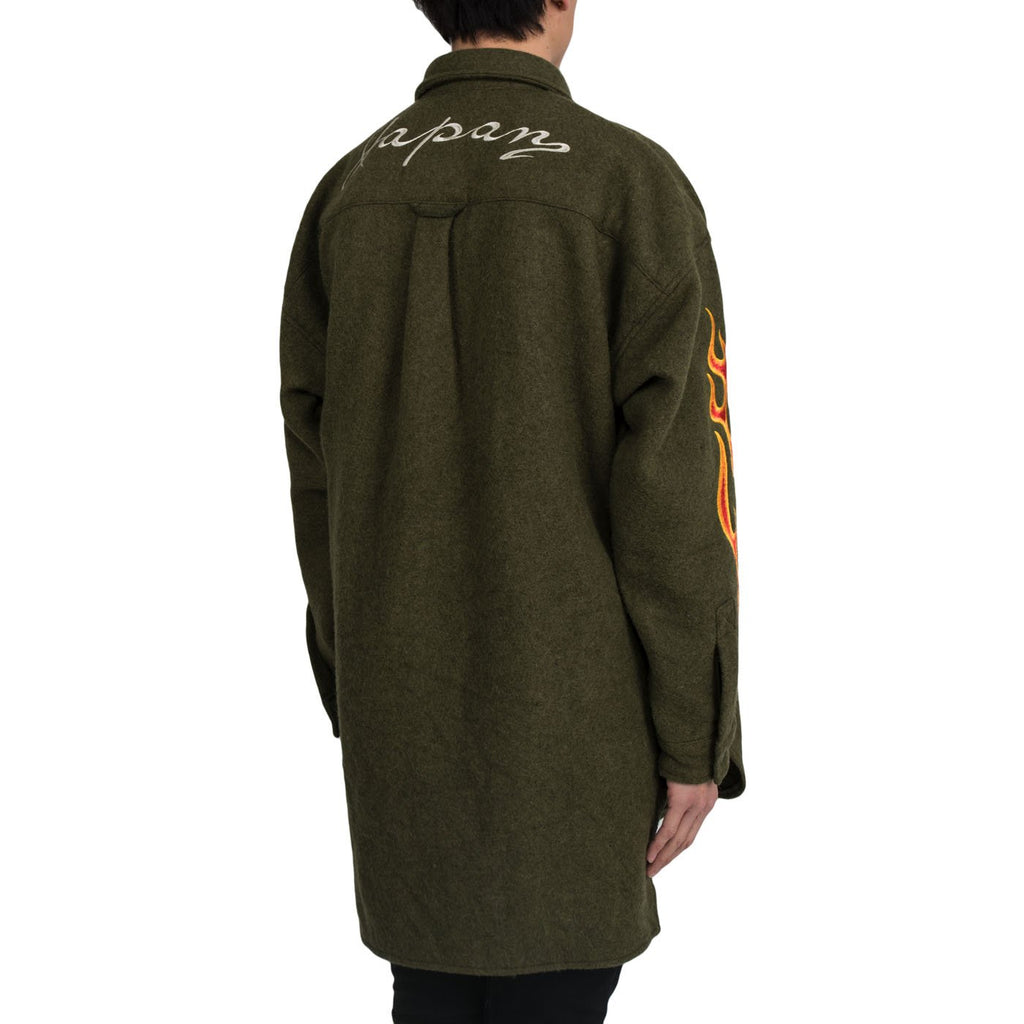 READYMADE Oversize Shirt, Green